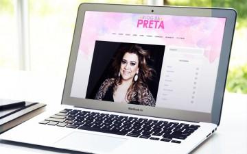 Preta Gil relança seu blog