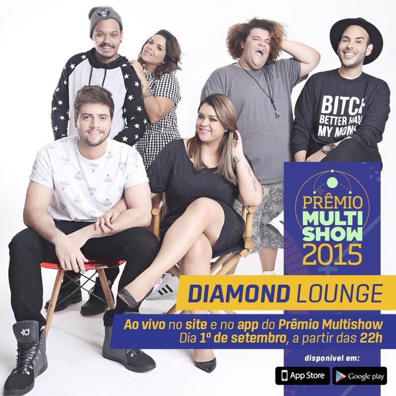 Preta Gil recebe famosos nos bastidores do Prêmio Multishow em transmissão exclusiva na web