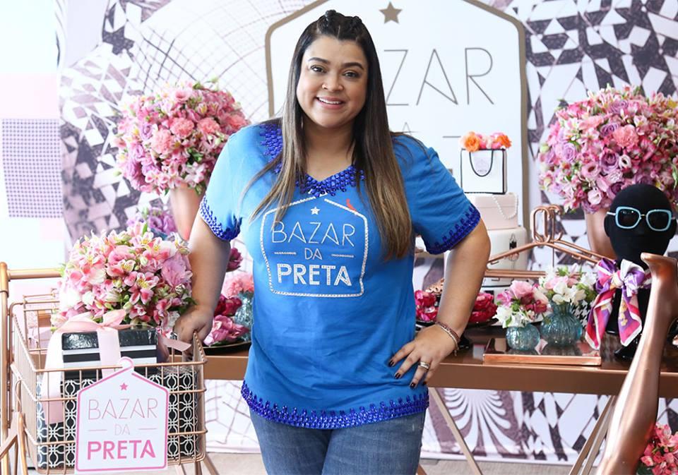 Preta Gil realiza seu 7º bazar beneficente no Rio de Janeiro